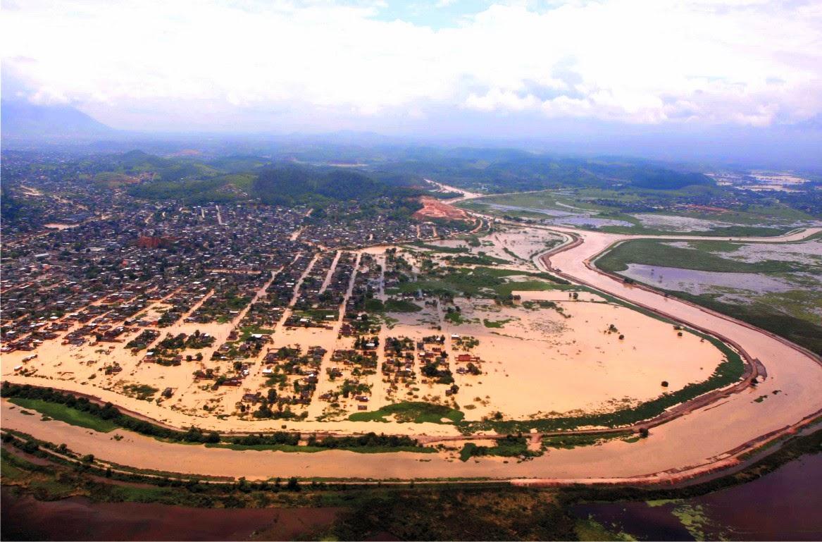 Enchente Parque Amorim 2009