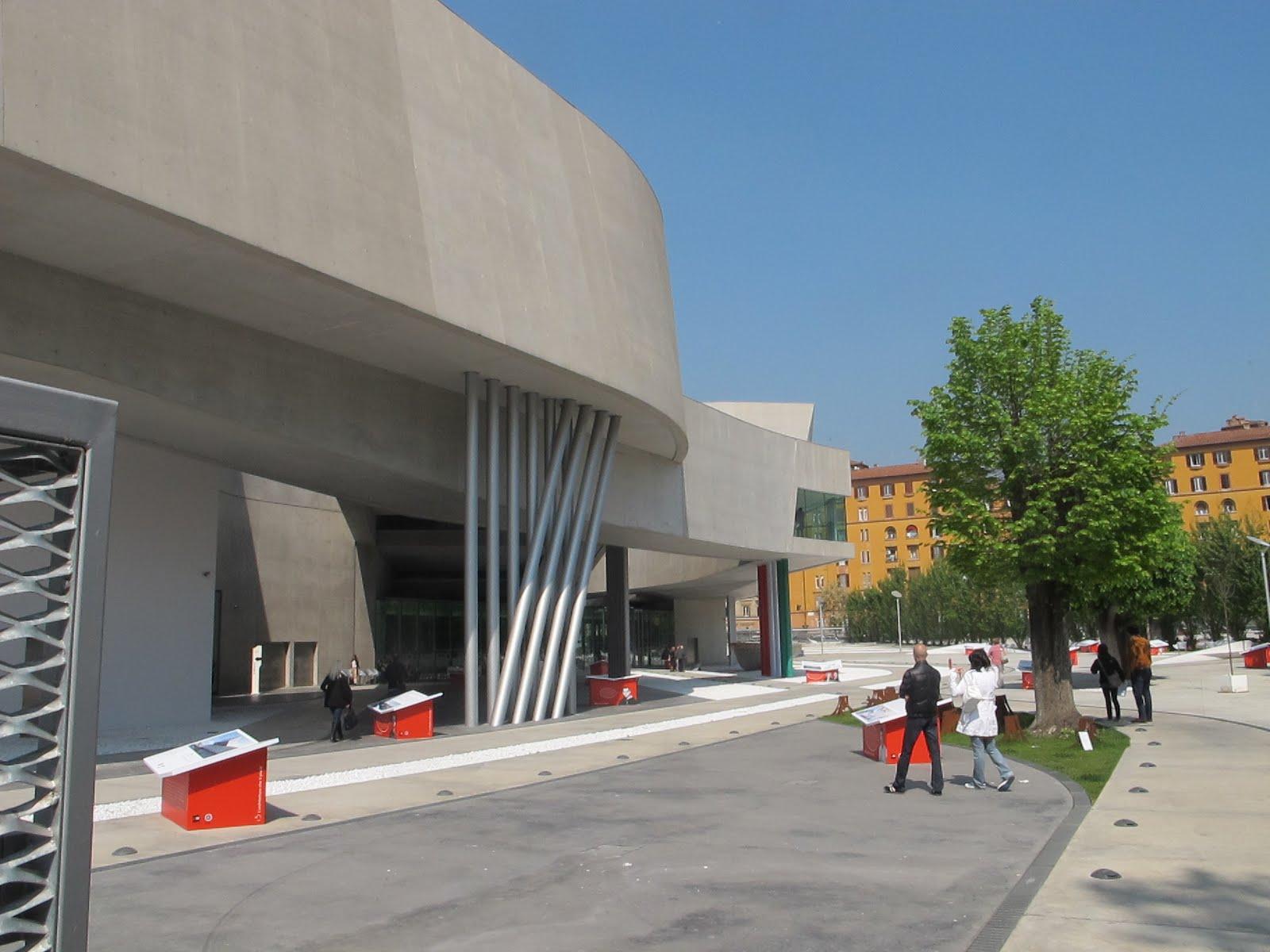 color architecture moderne et contemporaine rome