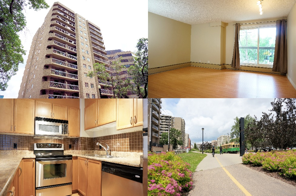 For Sale $289,900 #205 Tower On The Park 2Bed + 2Bath + 1 Parking Stall