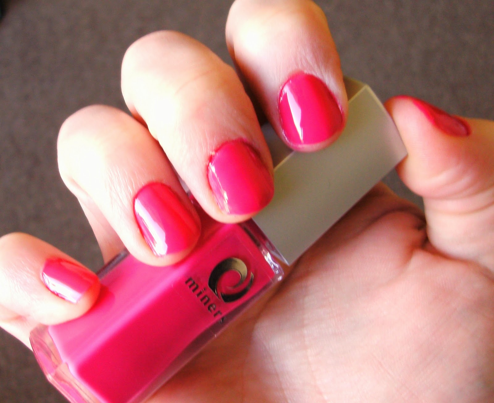Miners Cosmetics SS14 Trends Hot Pink Neon Nail Polish in Jezebel