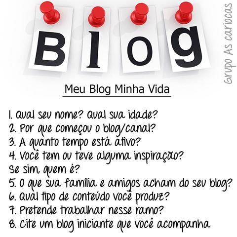 Tag Meu Blog minha vida