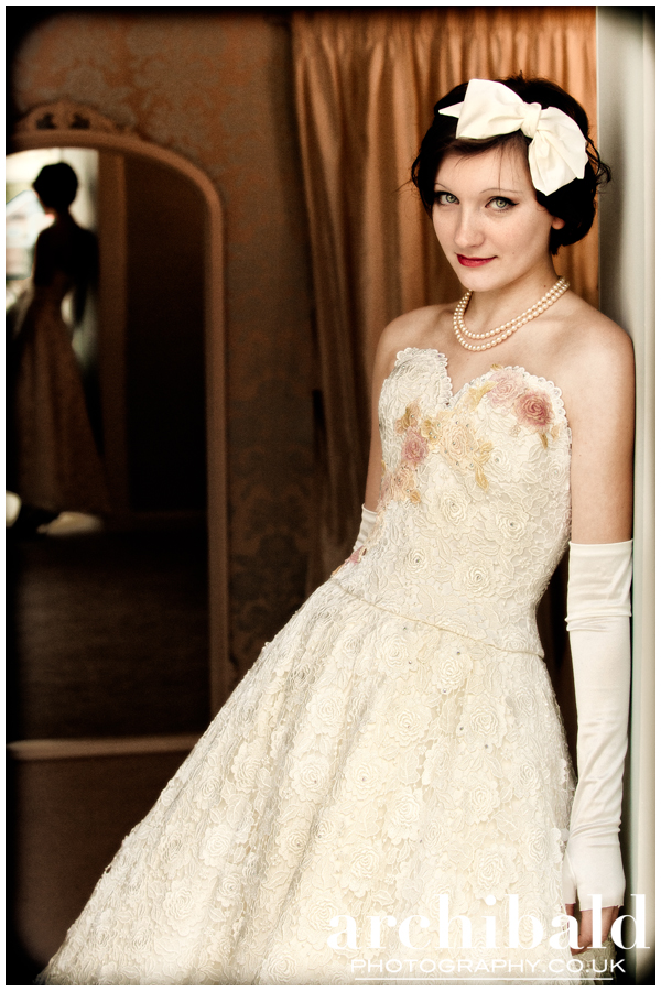 Pure Hair 1950s Inspired Wedding