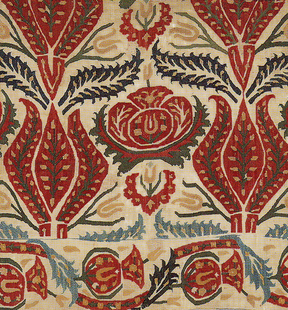 Windmills Of Your Mind: The Sultan\'s Garden -- Ottoman embroidered ...