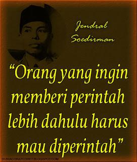 Kata2 Bijak (Bergambar) Jendral Soedirman