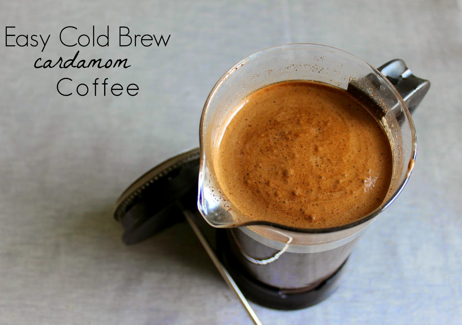 The Pickled Herring: Easy Cold Brew Cardamom Coffee + 2 ...