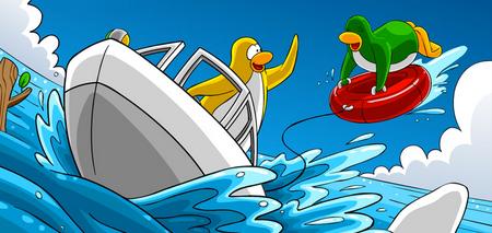 Club Penguin Hydro Hopper fun facts