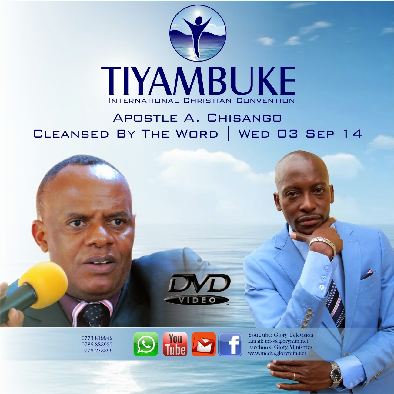 Apostle Alexander Chisango: We Are Cleansed By The Word