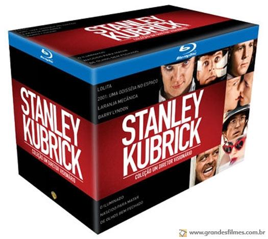 Box Stanley Kubrick: Um Diretor Visionário, em blu-ray, na Saraiva