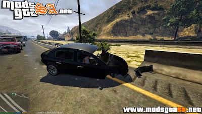 V - Mod Danos em Veículos Real para GTA V PC