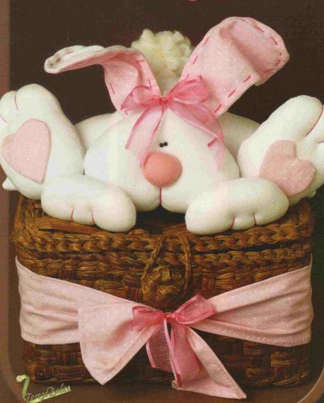 как сшить пасхального зайца