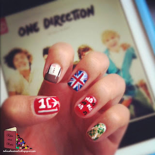 Unhas Decoradas da Inglaterra e outros desenhos