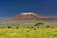 Kilimanjaro sunset Africa landscape