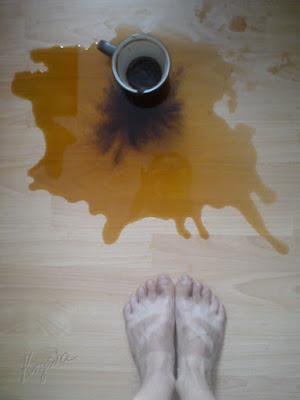 Krysia to uszyje - kawa się wylała - krysiakowo