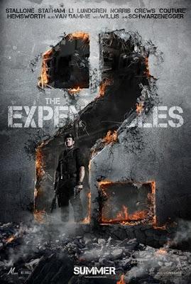 Poster oficial de Os Mercenários 2 - The Expendables 2