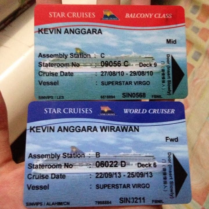 Access card at SuperStar Virgo