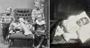 Orang Zaman Dulu Suka Memotret Jenazah Anaknya