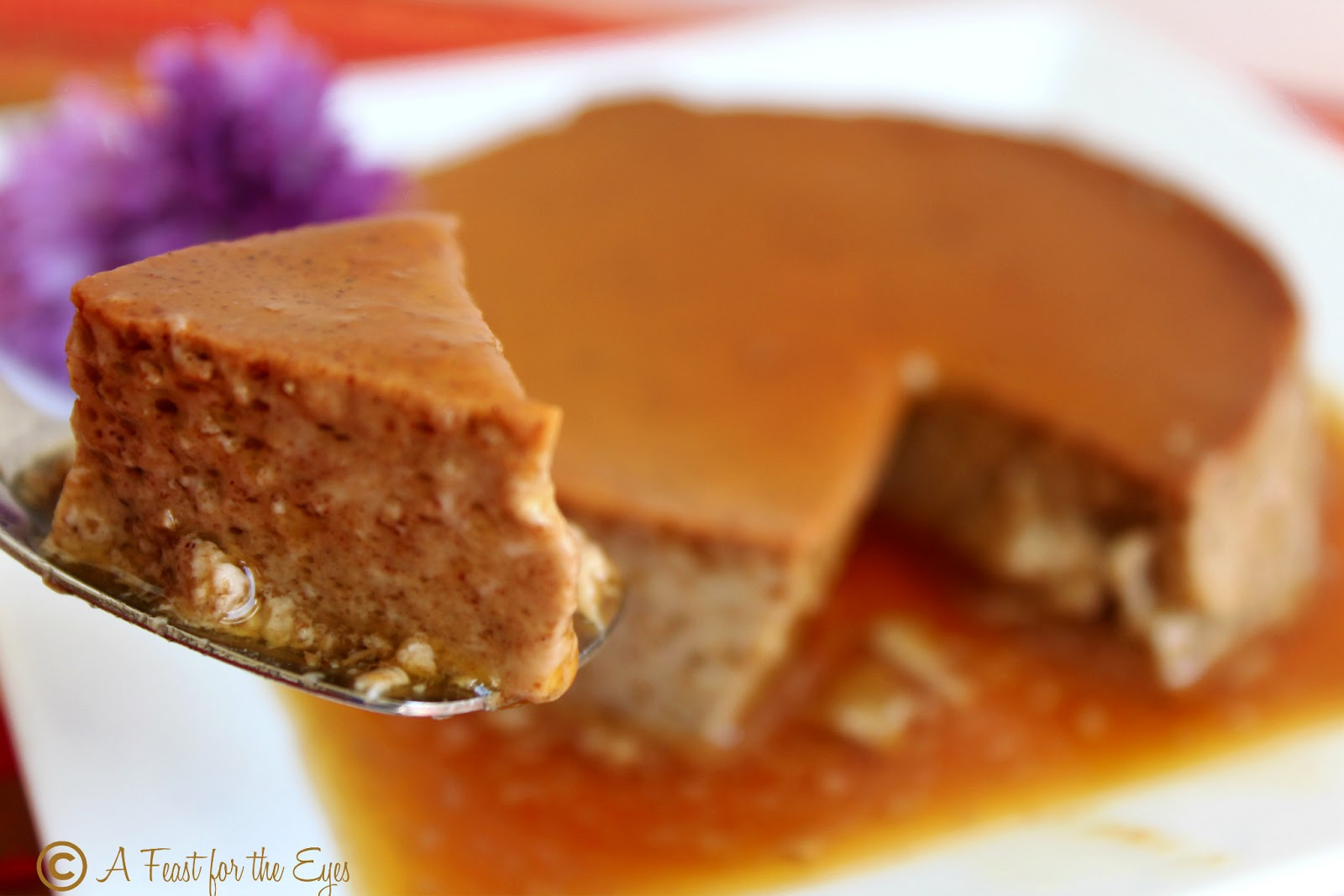 Feast for the Eyes: Mexican Chocolate Flan