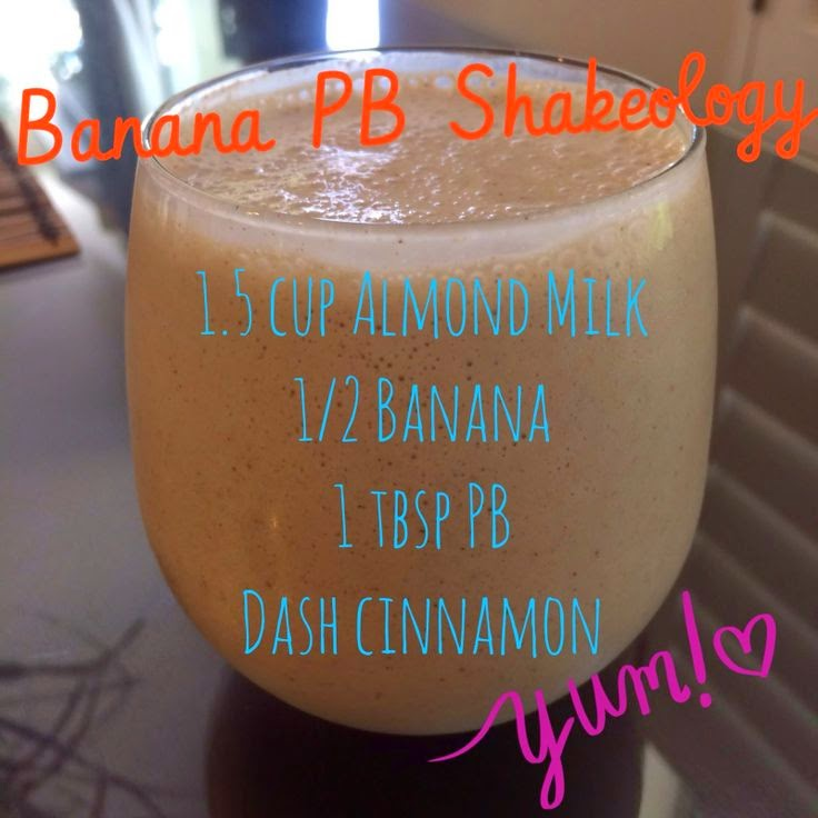 Banana Peanut Butter Shakeology Recipe, www.HealthyFitFocused.com