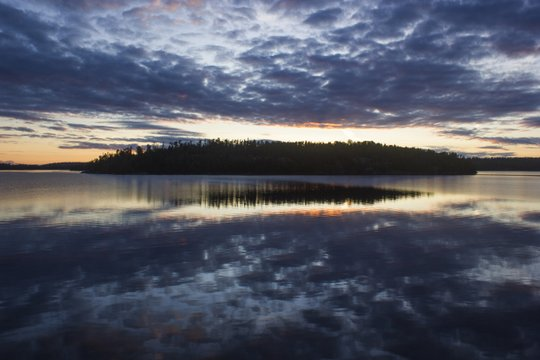Photo of the Month: Evening in the North Woods