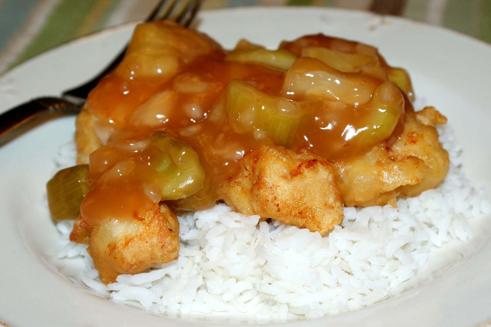 Snow Delicious: Sweet and Sour Chicken