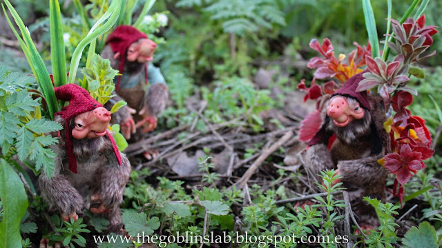 Fantasy creatures ooak sod whistlers forest pixies