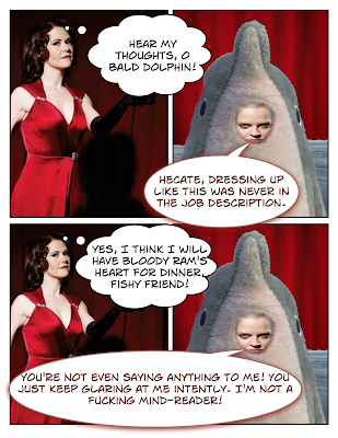 Sleep No More: Hecate's Dolphin Telepathy