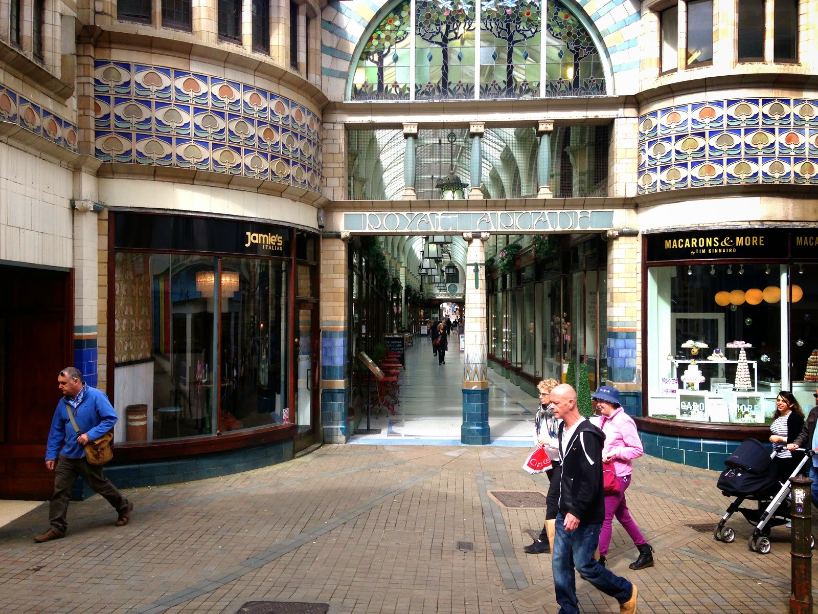 A picture of The Royal Arcade Norwich