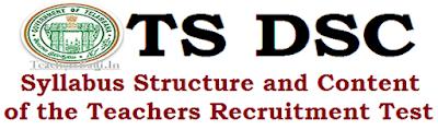 Syllabus,Structure,Content of DSC Test