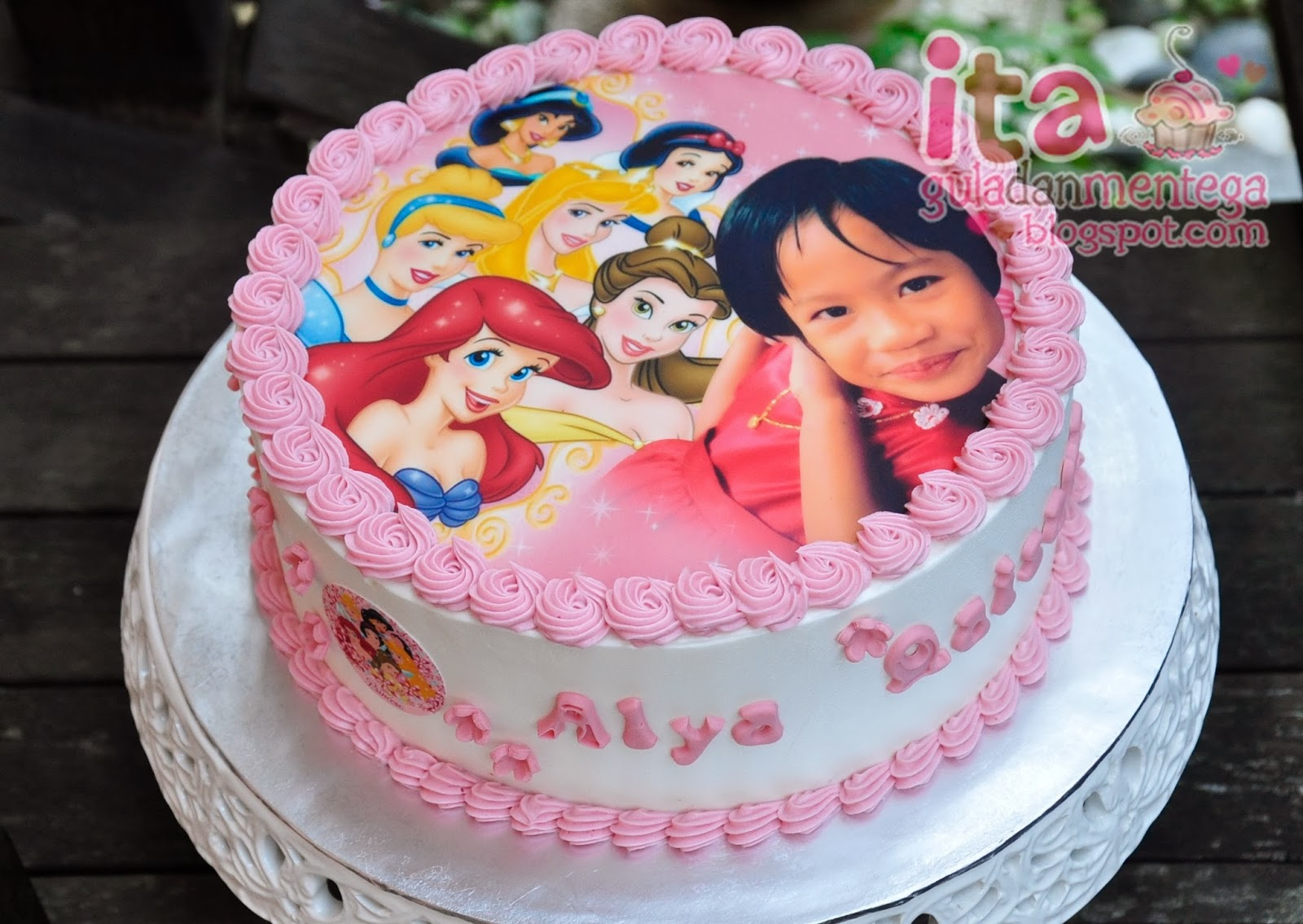 Gula Dan Mentega Birthday Cake Disney Princess