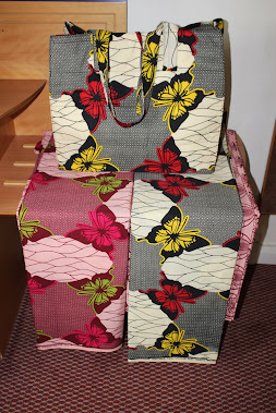 MY BEST TOTE AFRICA PRINT BAG :DESIGN BY FLORA LYIMO'