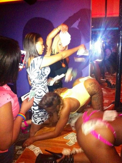 Black female strippers
