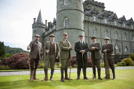 Visiting a Downton Abbey Castle