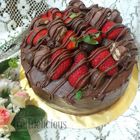 Devils Food Choc Cake