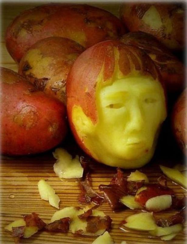Fuad informasi dikongsi bersama amazing food art