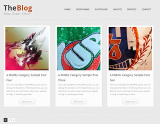 WordPress-Template The Blog