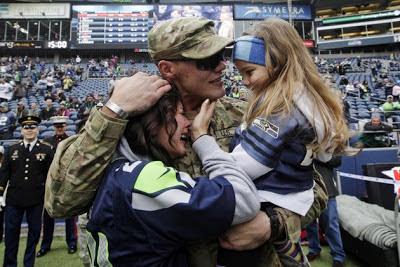 Veteran's homecoming