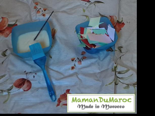 Maman du maroc colle comestible faite maison - Colle faite maison ...