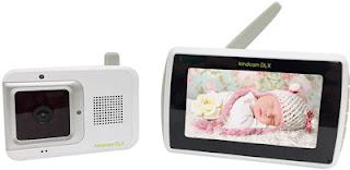 Babá Eletrônica Digital Kindcam DLX com termómetro digital