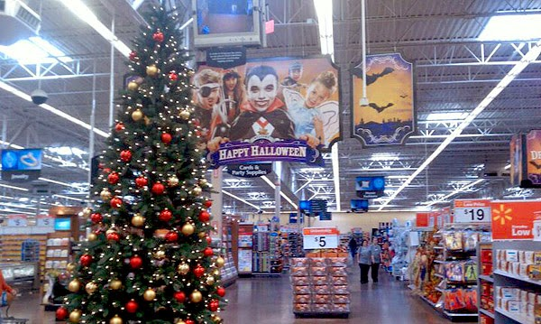 Manic Digression: Don We Now Our Wal Mart Christmas Shirts - Christmas Tree Decorations To Make At Home