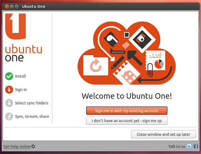 Qt based ubuntuone