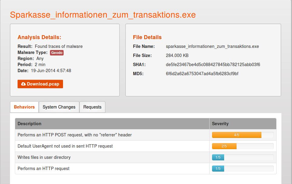 ' ' from the web at 'http://1.bp.blogspot.com/-lssEpSEIv4U/U7QY36XwxGI/AAAAAAAAcP4/eeEO8cA5ieI/s1600/Geodo-banking-malware.png'