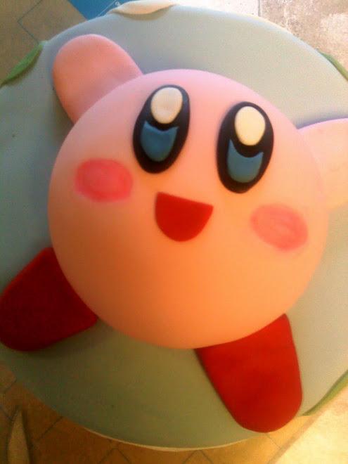 Austin's Kirby cake