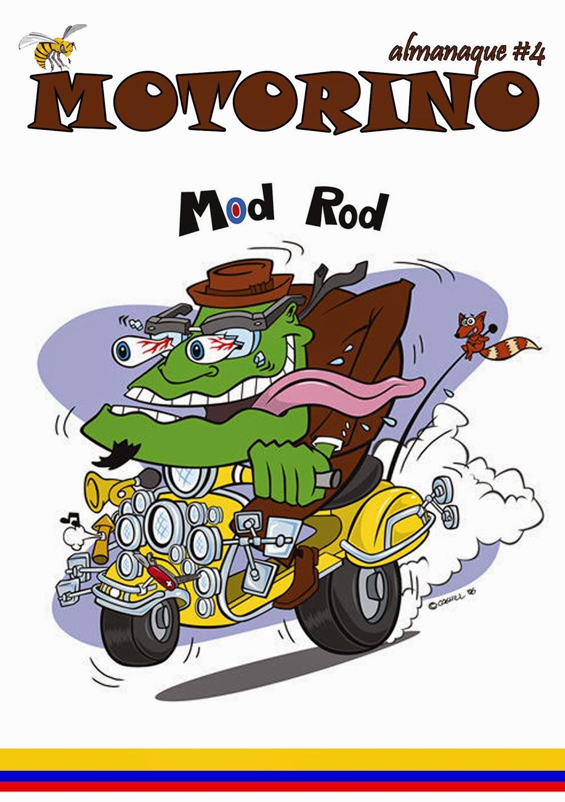 Almanaque MOTORINO #4 (Mod Rod)
