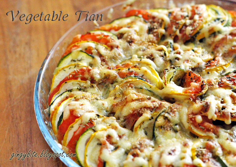 Vegetable Tian | The Yummy Journey