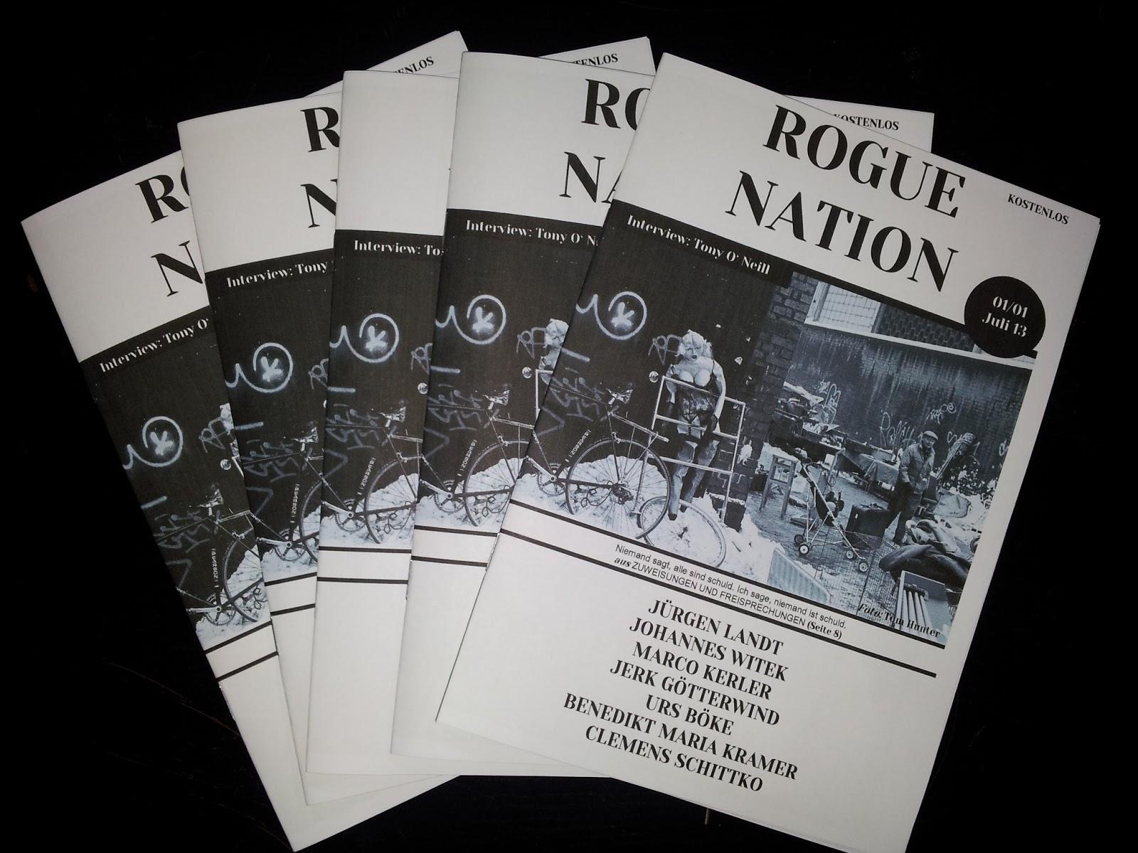Rogue Blogue Juni 2013