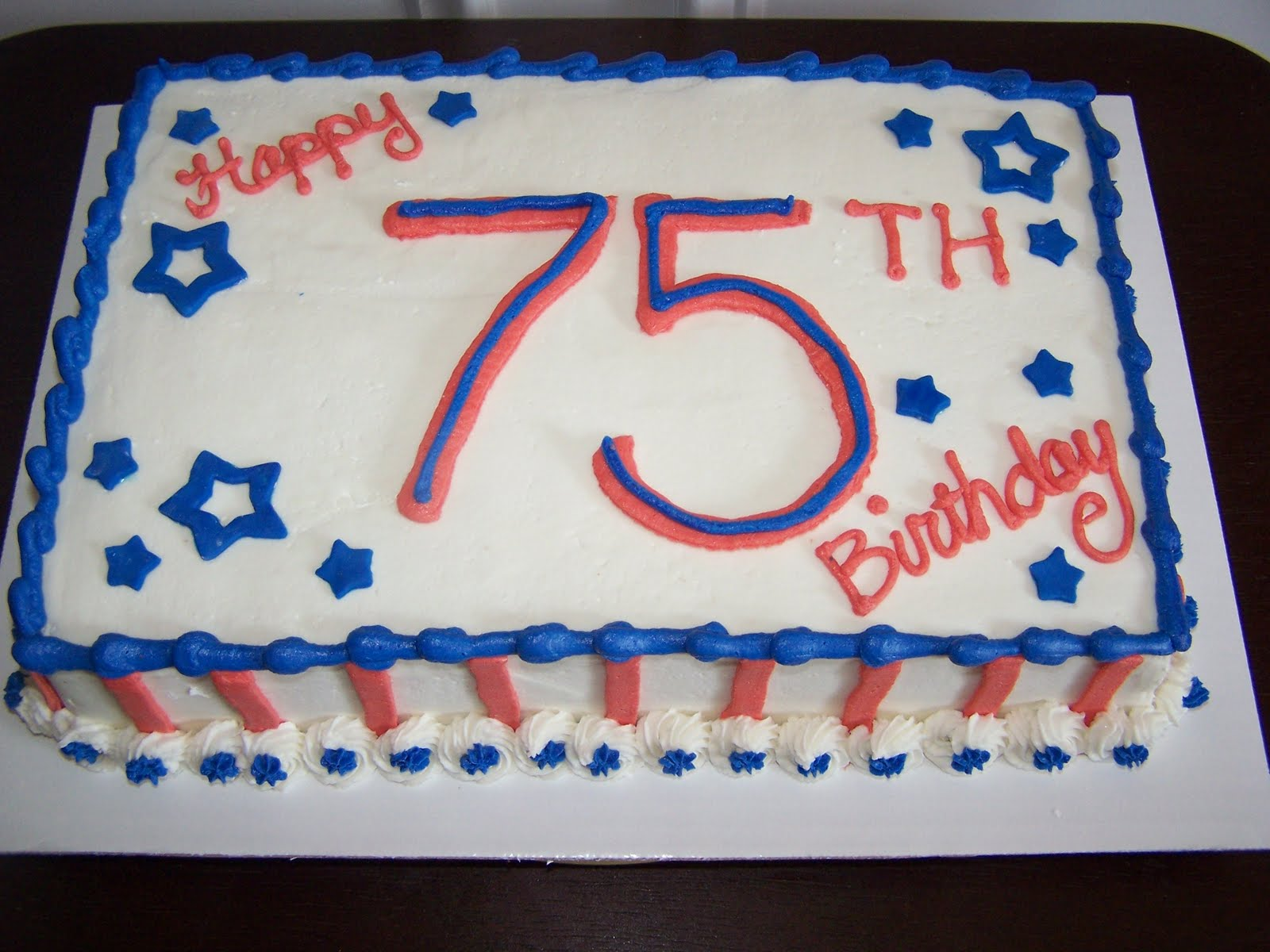 Creative Cakes N More Red White Blue