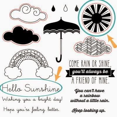Rain or Shine stamp set