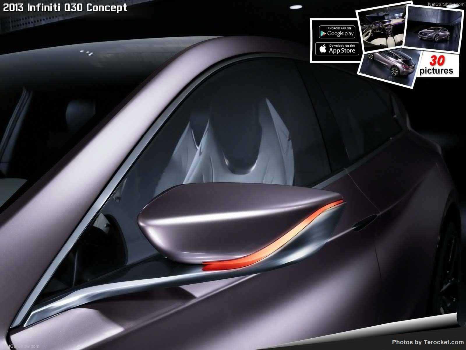 Hình ảnh xe ô tô Infiniti Q30 Concept 2013 & nội ngoại thất
