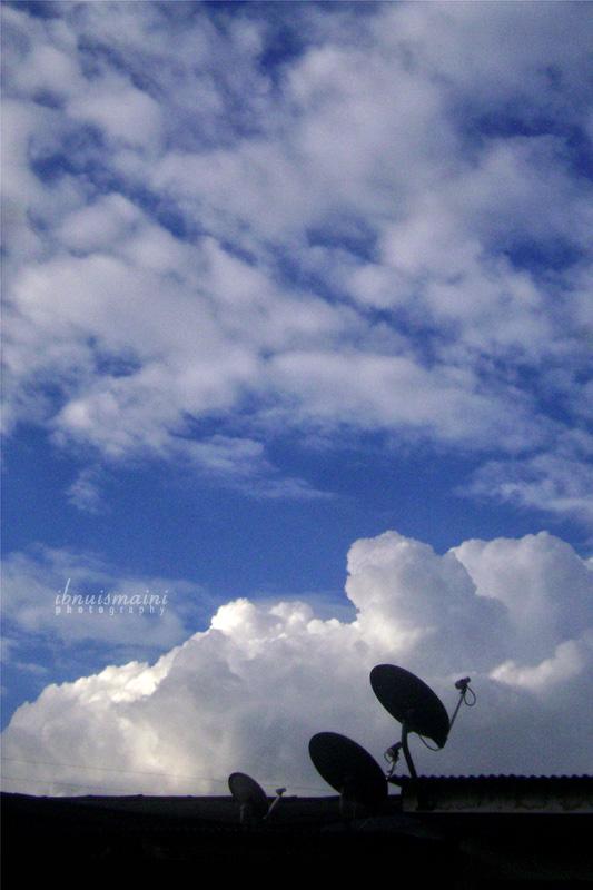 cuaca cerah, langit cemerlang