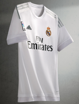 camiseta Real Madrid primera equipación 2015 2016
